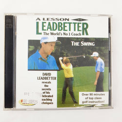 GOLF A Lesson With David Leadbetter The Swing VCD Instructional Video CD 90min