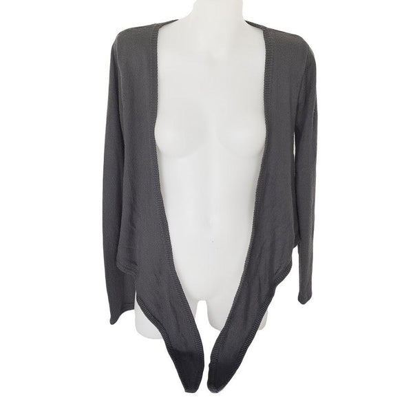 AGENT NINETYNINE Grey Long Sleeve Cardigan - 1000 Things Australia