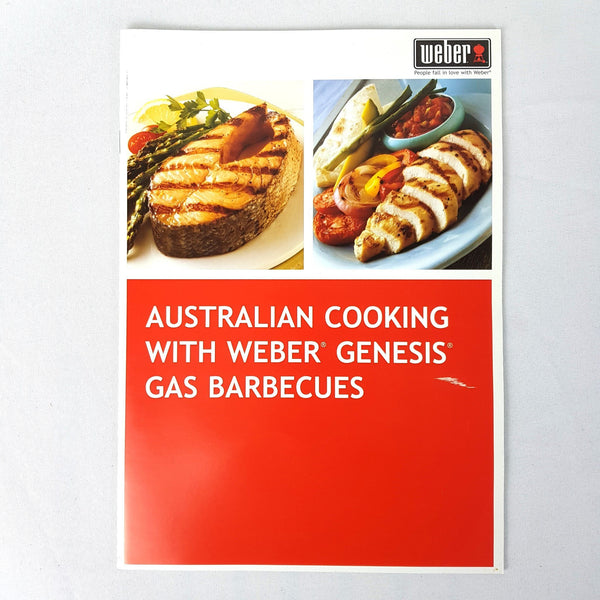 Australian Cooking with Weber Genesis Gas Barbecues Book By Stephen Weber - 1000 Things Australia