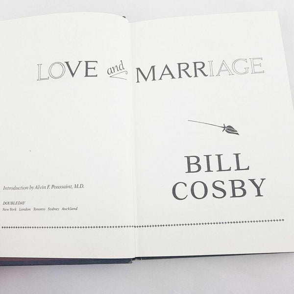 Love and Marriage by Bill Cosby Alvin F. Poussaint Hardcover - 1000 Things Australia