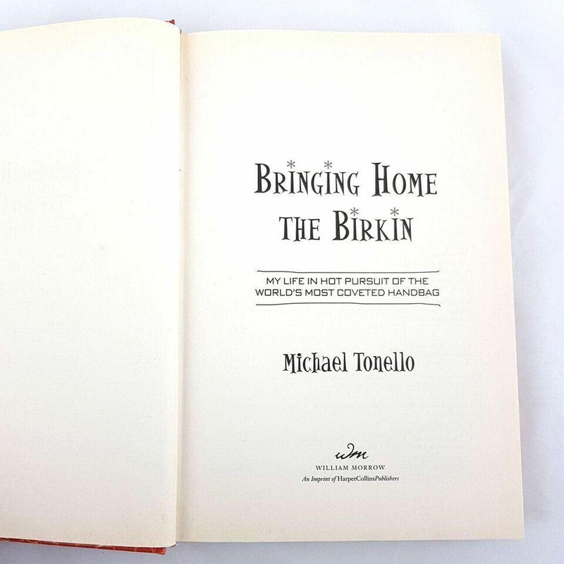 Bringing Home the Birkin By Michael Tonello - 1000 Things Australia
