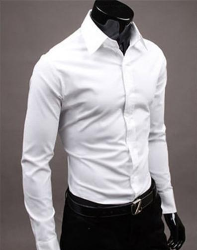 Button Down Slim Fit White Top - 1000 Things Australia