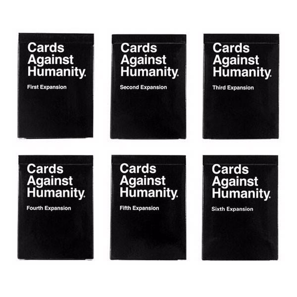Cards Against Humanity Australian Edition Base Set + 1-6 Expansion Packs - 1000 Things Australia