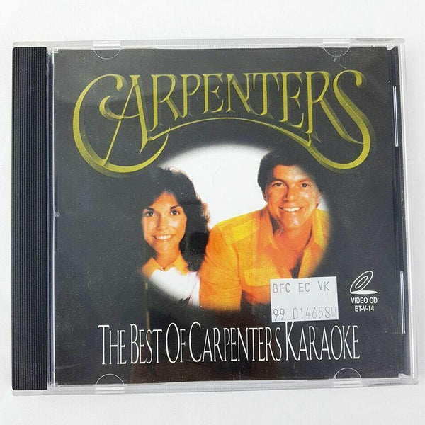 Carpenters The Best of Carpenters Karaoke Video CD - 1000 Things Australia