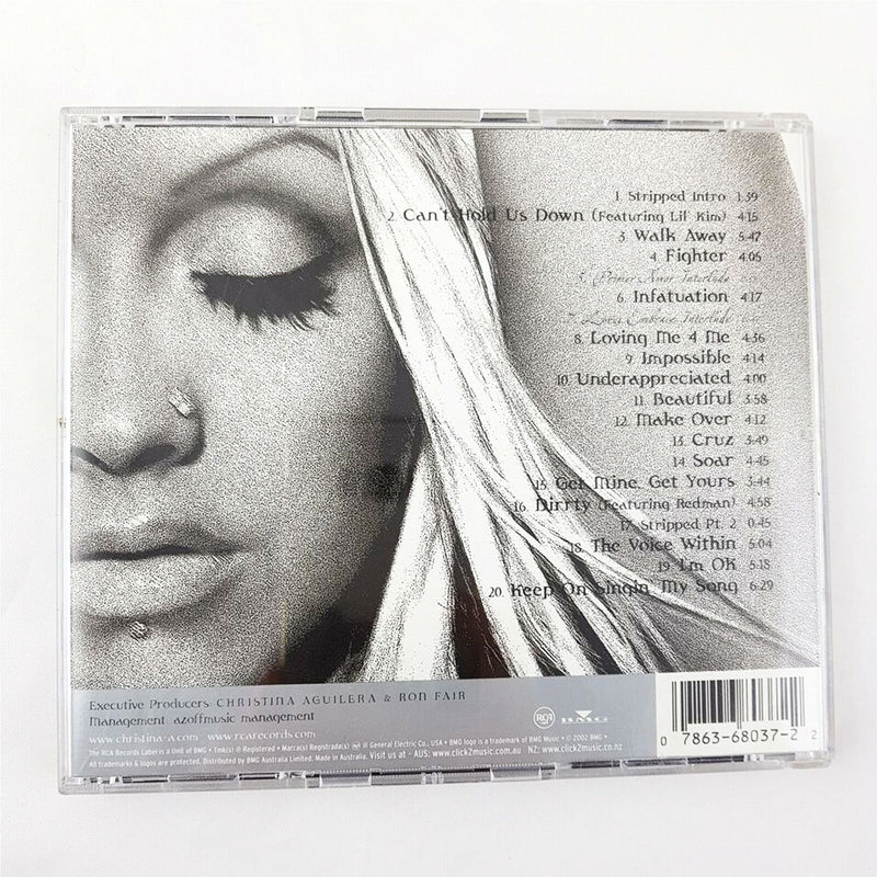 Christina Aguilera - Stripped (CD, 2002, BMG) Album - 1000 Things Australia