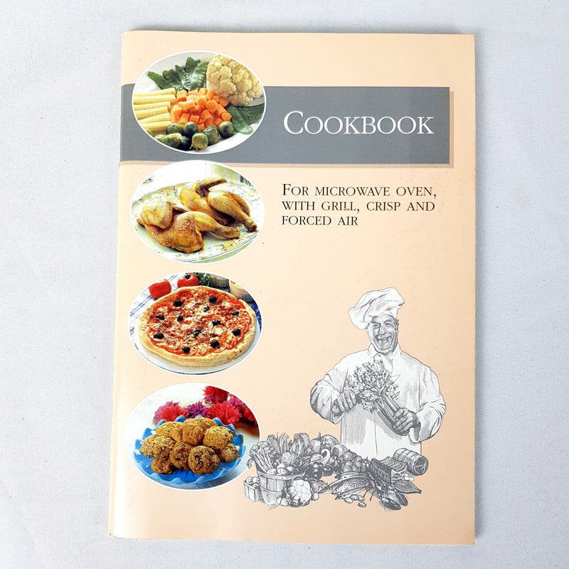 Cookbook for Microwave Oven Grill, Crisp and Forced Air Recipe By WH Sweden - 1000 Things Australia