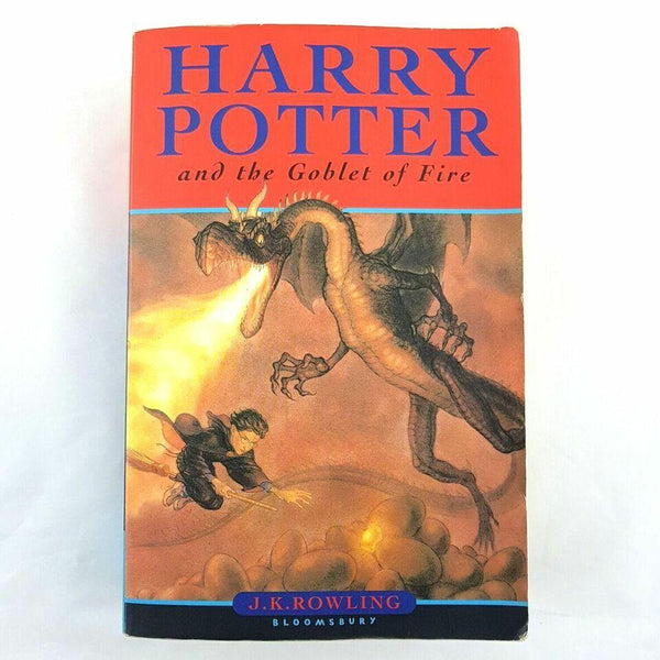 J.K. Rowling Harry Potter and the Goblet of Fire - 1000 Things Australia