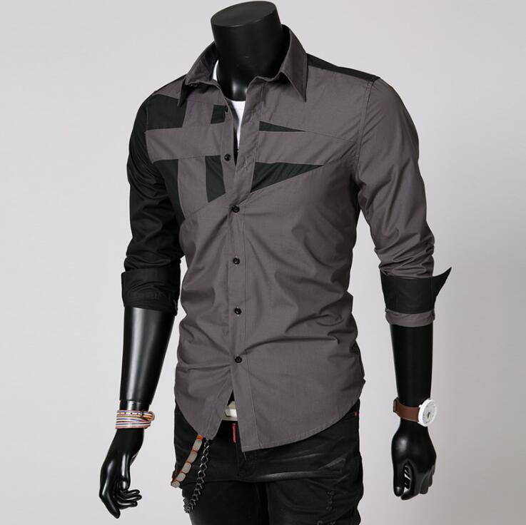Long Sleeve Black & Grey Slim Top - 1000 Things Australia