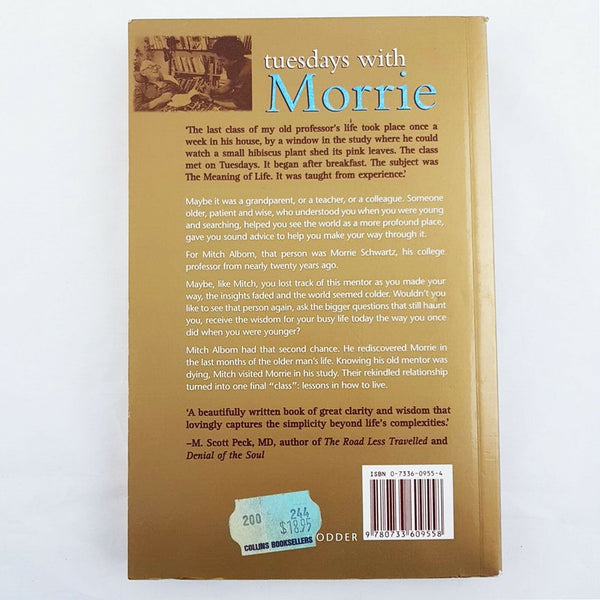 TUESDAYS WITH MORRIE by Mitch Albom - 1000 Things Australia