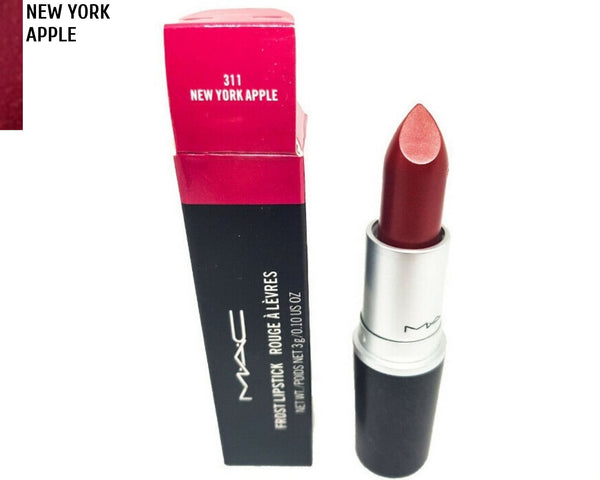 M·A·C NEW YORK APPLE Pink Berry Frost Lipstick Factory 2nd