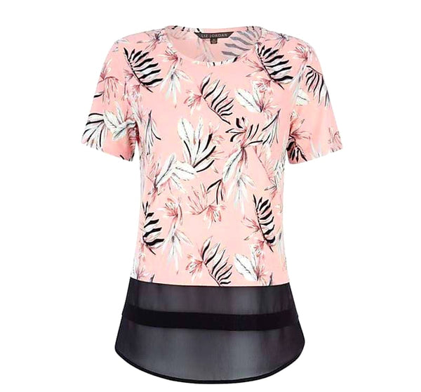 LIZ JORDAN Blush Pink Madison Top - 1000 Things Australia