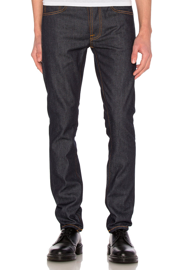 NUDIE JEANS Tilted Tor Dry Pure Navy W33 L32