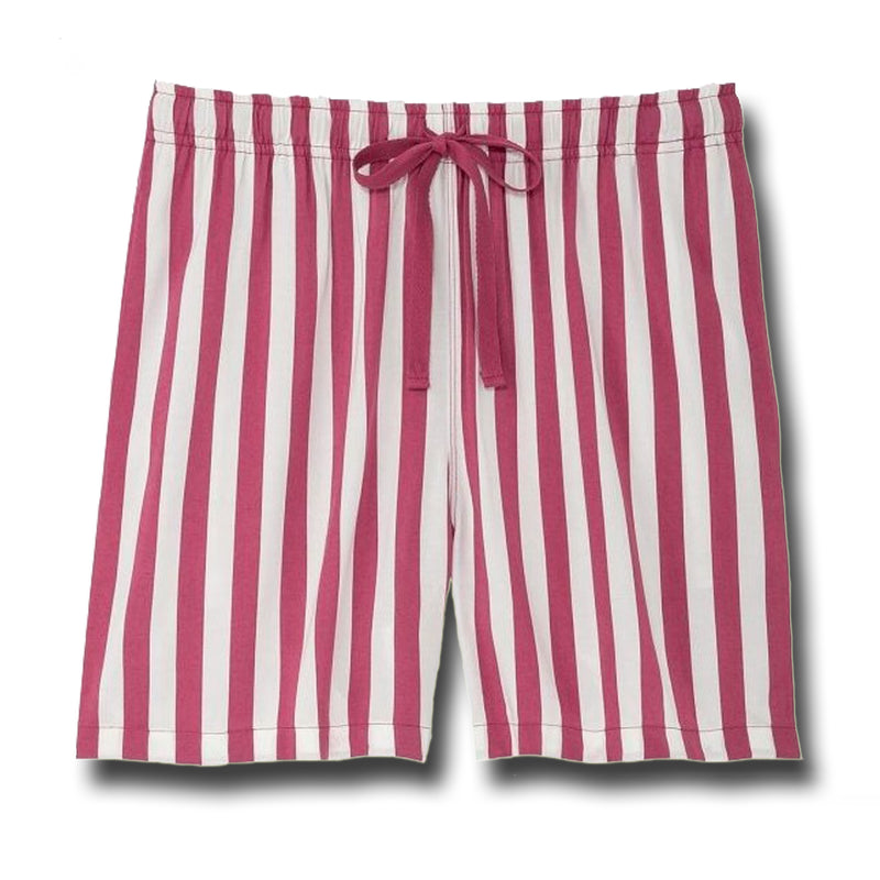 UNIQLO Pink & White Relaco Striped Shorts - 1000 Things Australia