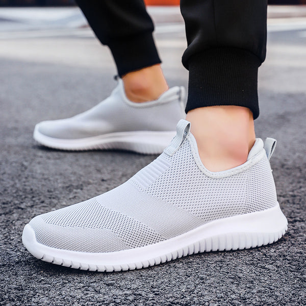 Men's Lightweight Mesh Knit Slip On Shoes - 1000 Things Australia