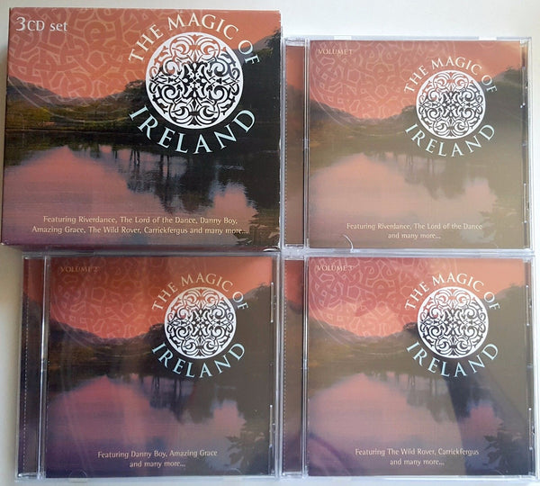 The Magic of Ireland Foster & Allen 3-Disc Sets 6 CDs Music Compilation (2 CD sets) - 1000 Things Australia