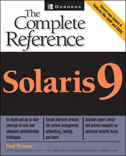 Solaris 9: The Complete Reference by Paul Watters - 1000 Things Australia