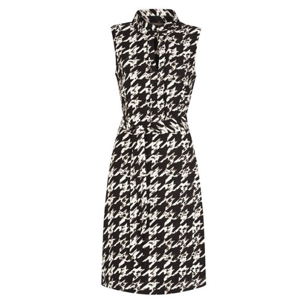 LIZ JORDAN Black Madison A-Line Dress - 1000 Things Australia