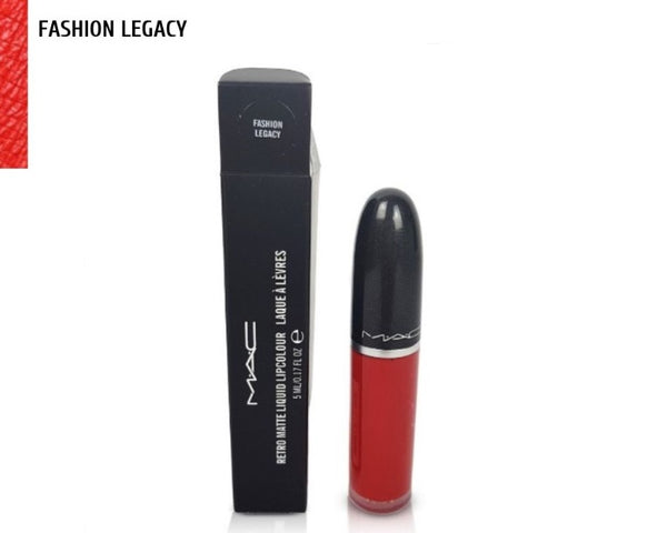 M·A·C FASHION LEGACY Retro Matte Liquid Lipstick