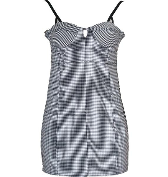 ONE TEASPOON Checkered Pixie Dress