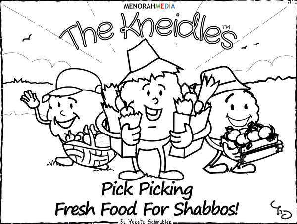 The Kneidles; Coloring Book 1 - PDF Download