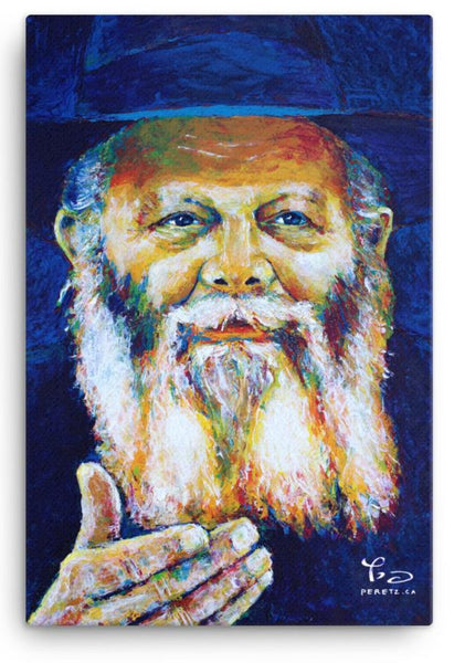 L'Chaim In Living Color - Canvas