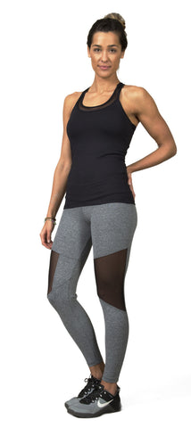 Mesh Gray - Leggings