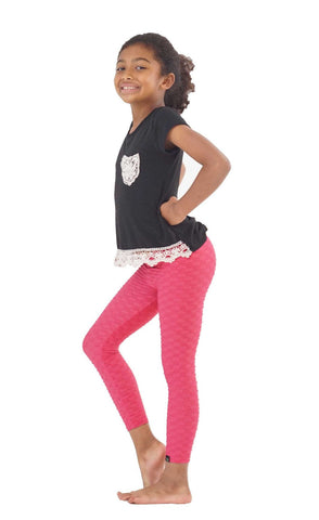 Jazz Leggings Pink - Kids