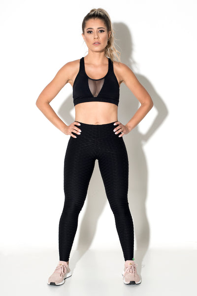 Jazz Leggings - Black / Slate