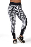 Color Block - UV Protection Leggings
