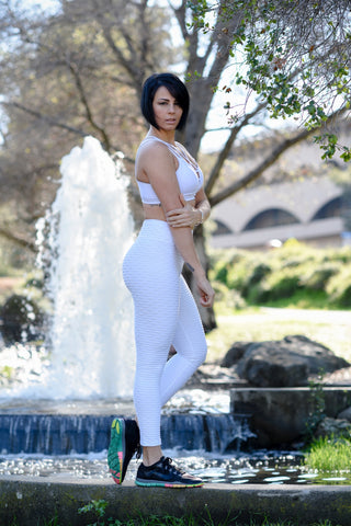 Jazz Leggings - White