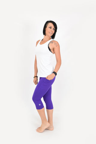 Obsession Capris - Purple