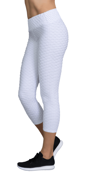 Mermaid - White Capris