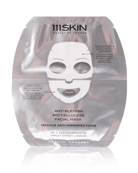 111 Skin Anti Blemish Bio Cellulose Facial Mask
