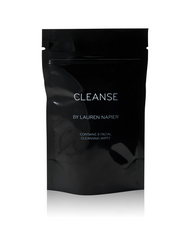 Cleanse by Lauren Napier Facial Wipes x 5