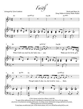 Individual Sheet Music - Faith