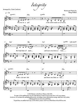 Individual Sheet Music - Integrity