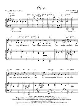 Individual Sheet Music - Pure
