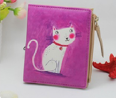 Marilyn Monroe Cartoon Cat Women Wallets