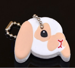 Cat Puppy Dog Rabbit Decoration Keychain