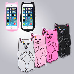 Cat Case For iPhone 6 6S/6 6s Plus/5 5s Soft