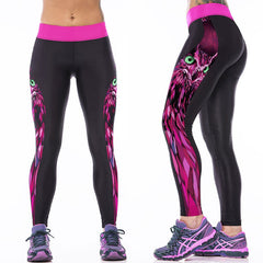 3D Cat Woman Gym Leggings