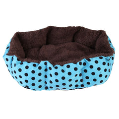 Soft Plush Cozy Pet Dog Puppy Cat Warm Bed House