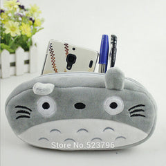 Cute Plush Cat Pen Pencil Purse Wallet Bags