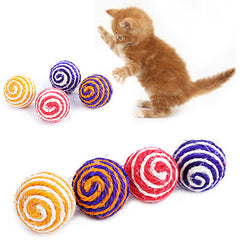Cat Chewing Rattle Scratch Toy