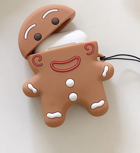 Holiday Airpod Gingerbread Case