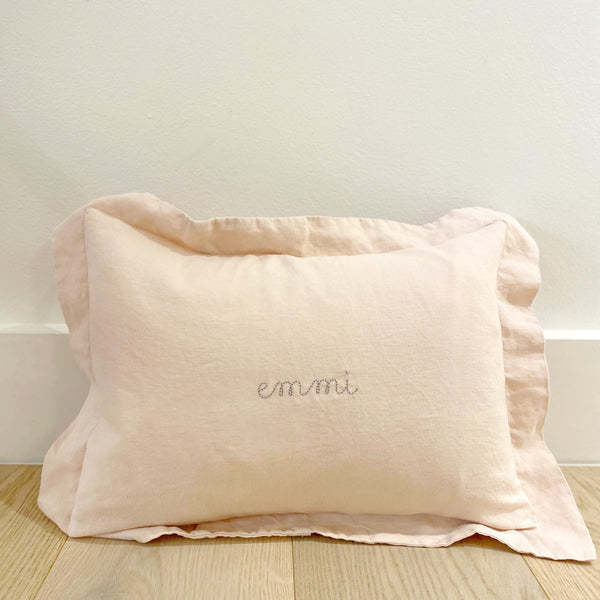 Mini Pillowcase in Blush