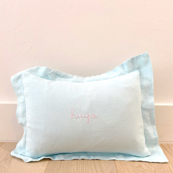 Mini Pillowcase in Baby Blue