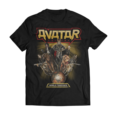 Avatar Country Animals Tour Tee