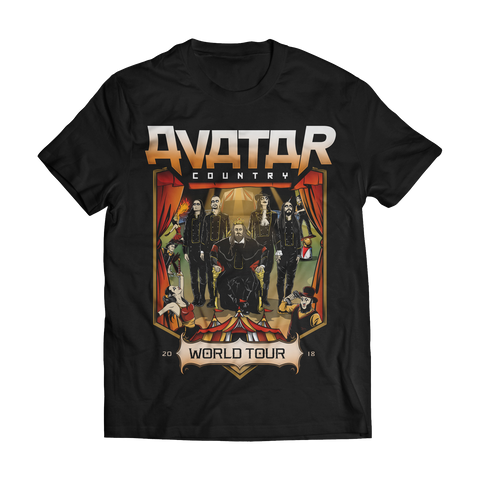 Avatar Country Circus World Tour Tee (Apr-Jul 2018)