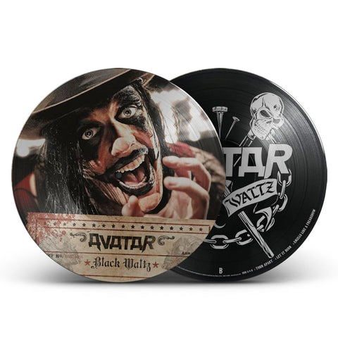 Black Waltz Picture Disc Vinyl